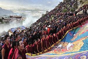 Khám Phá Lễ Hội Ganden Thangka